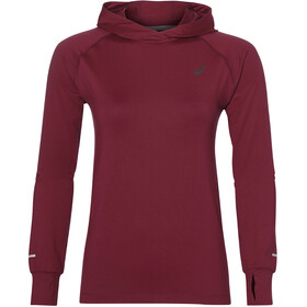asics Thermopolis Maglietta corsa maniche lunghe Donna rosso